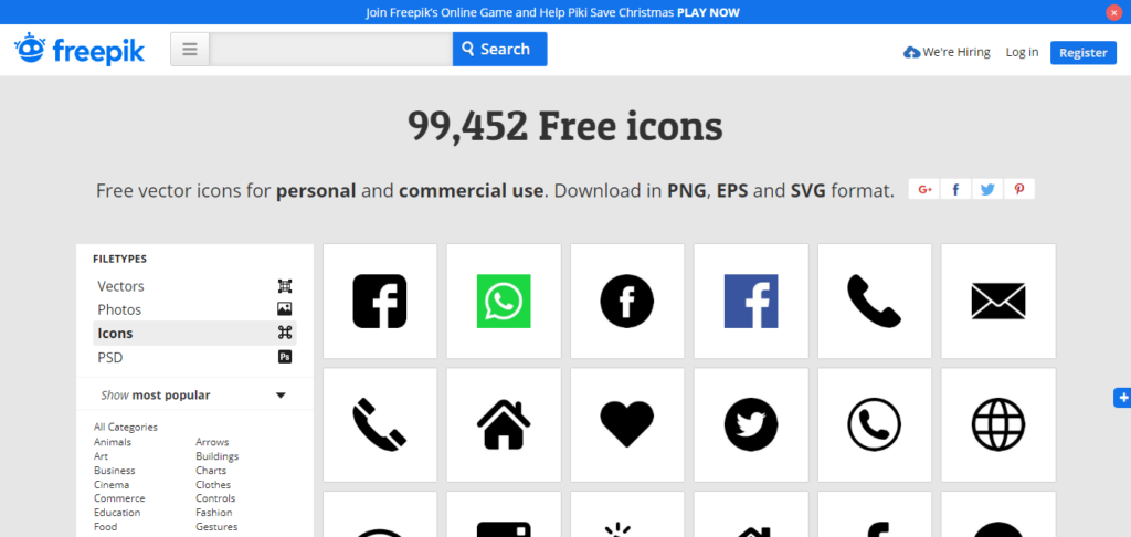 10+ Best and Unique Free & Premium Web Icons for Your Website