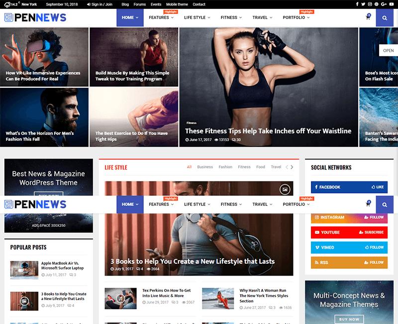 PenNews theme