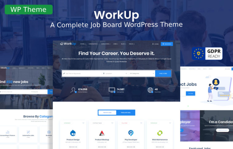 WorkUp WordPress Theme